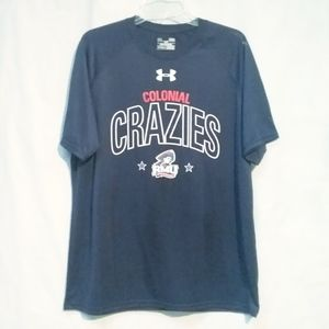 RMU Colonial Crazies Under Armour HeatGear LARGE